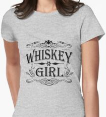 Whiskey Girl Women's Fitted T-Shirt
