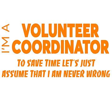 VOLUNTEER COORDINATOR by audioenginee
