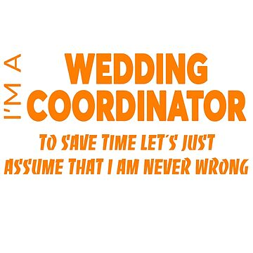 WEDDING COORDINATOR by audioenginee