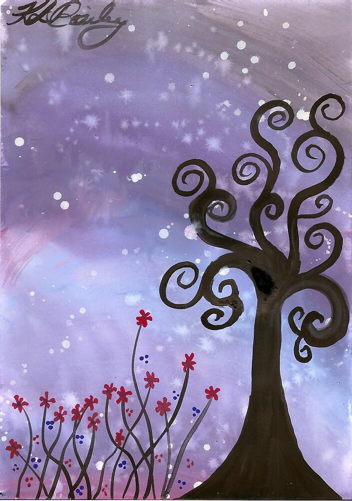 Starlit Night by klbailey