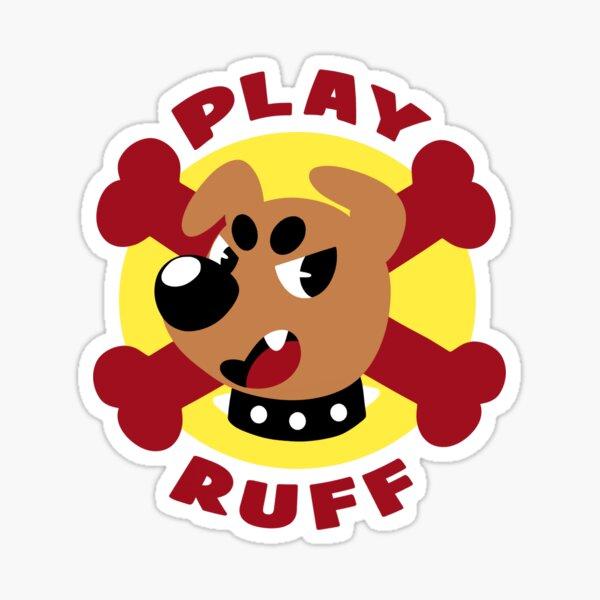 Spiel Ruff Sticker