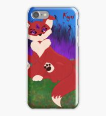 Fluff of Darkness (Full Color) iPhone Case/Skin
