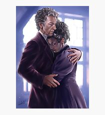 Missy and the Doctor Photographic Print