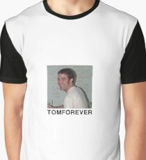 TOMFOREVER from Sunnei Spring Menswear 2018 Graphic T-Shirt