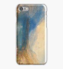 The Lake of Zug 1843 J. M. W. Turner iPhone Case/Skin