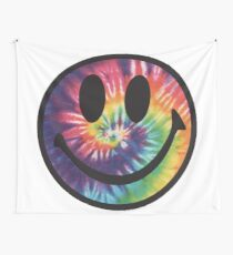 Tiedye Smiley Wall Tapestry