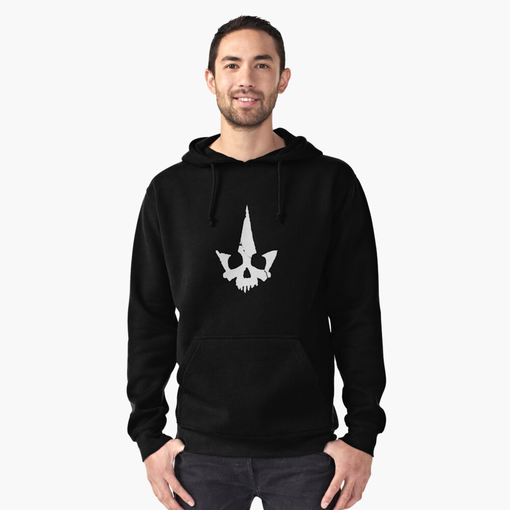 Tyranny Unmasked Logo Pullover Hoodie Front