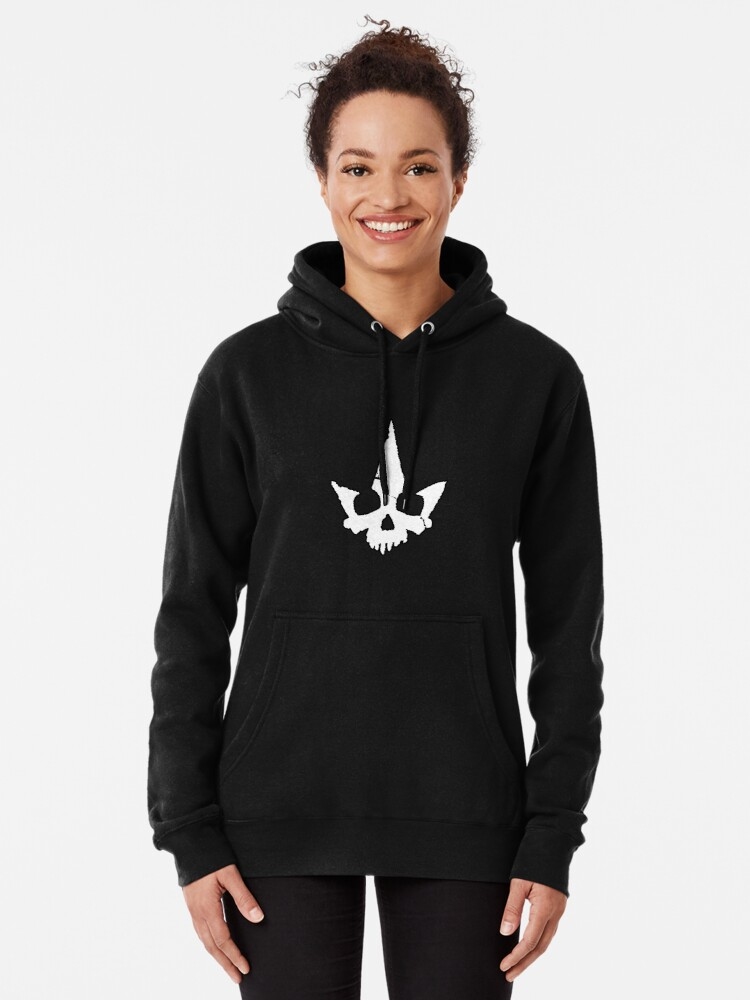 Alternate view of Tyranny Unmasked Logo Pullover Hoodie