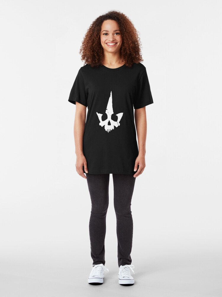 Alternate view of Tyranny Unmasked Logo Slim Fit T-Shirt