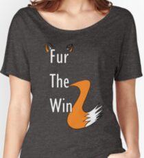 Fur The Win - Furry Fandom Women's Relaxed Fit T-Shirt