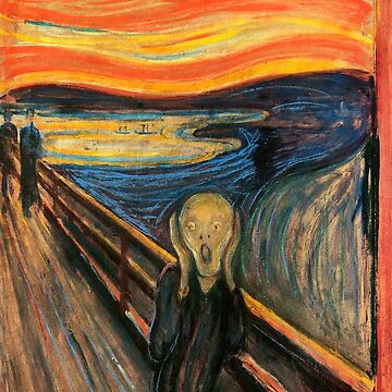 The Scream by Edvard Munch by vintageemporium