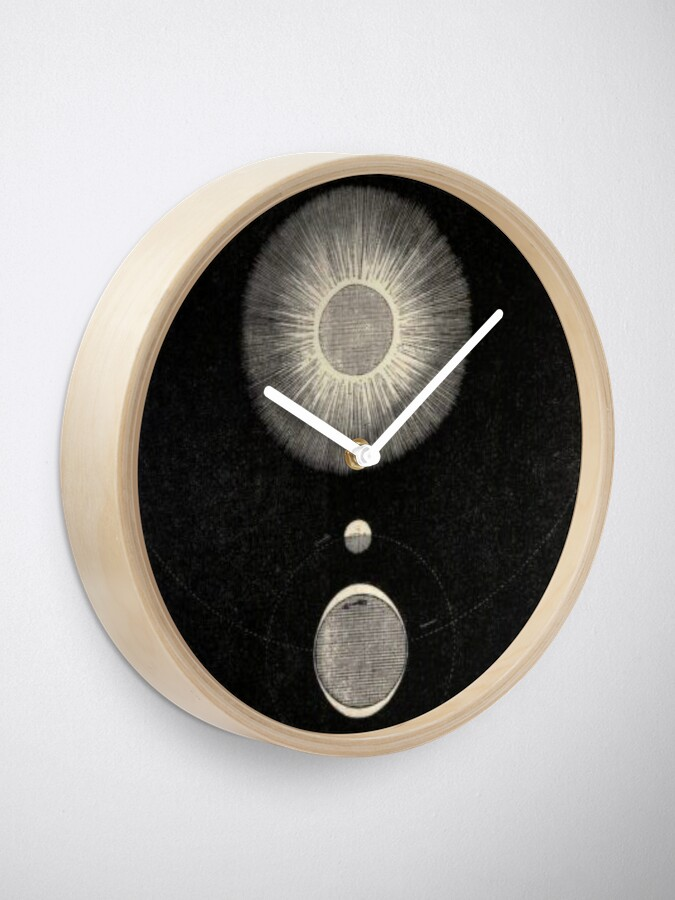 Alternate view of Vintage Sun Moon And Tides Clock