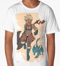 Dragon Girl Long T-Shirt