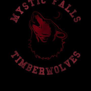 Mystic Falls Timberwolves (Vampire Diaries) by bittercreek