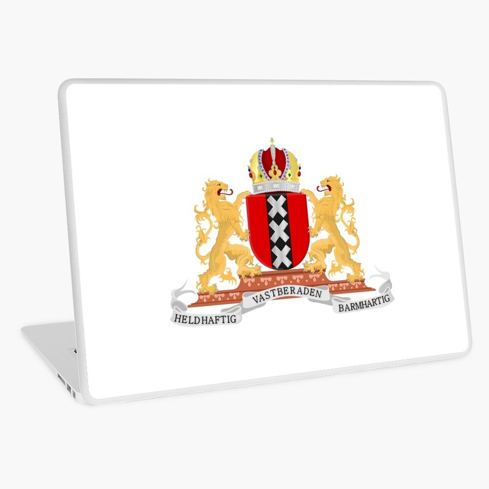 Amsterdam coat of arms Laptop Skin