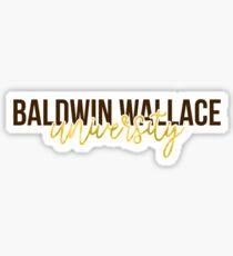 Baldwin Wallace - Style 13 Sticker