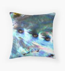 Paua Throw Pillow