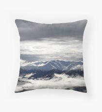Southern Alps Throw Pillow