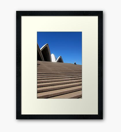 I'm at the Opera House Framed Print