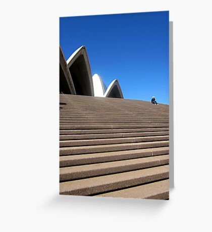 I'm at the Opera House Greeting Card