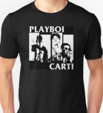 Playboi Carti Black Flag Logo Hiphop Punk T-Shirt