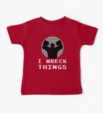 I Wreck Things by Last Petal Tees Kids Clothes