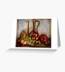 ":Still Life"" Greeting Card"