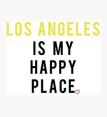 Los Angeles Happy Place Photographic Print