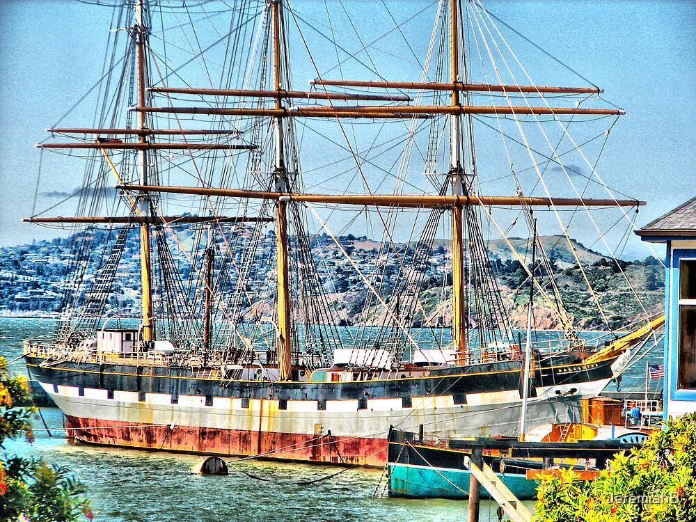 Rusty Pirate ship by JeremiahB