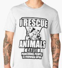 I Rescue Animals Shirt Men's Premium T-Shirt