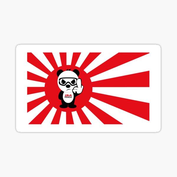 JDM-RISING-SUN-JDM-PANDA Sticker