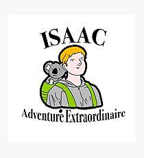 Isaac the adventurer Photographic Print