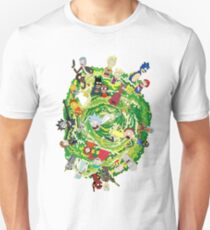 Cartoon Multiverse Unisex T-Shirt