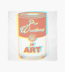Pro Wrestling is Art (3D) Scarf