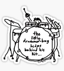 'Hide n' Snare' Sticker