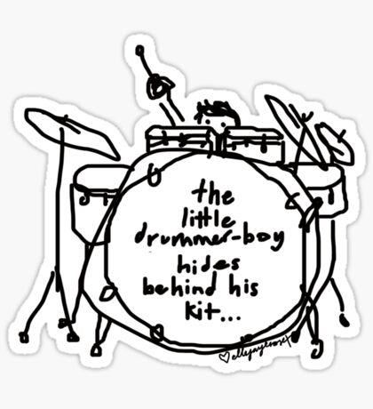 'Hide n' Snare' Sticker