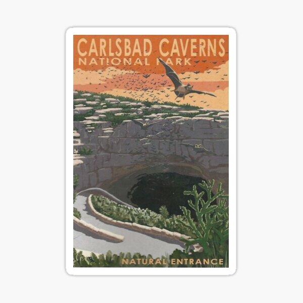 Carlsbad Caverns National Park - Natural Entrance Travel Decal Sticker