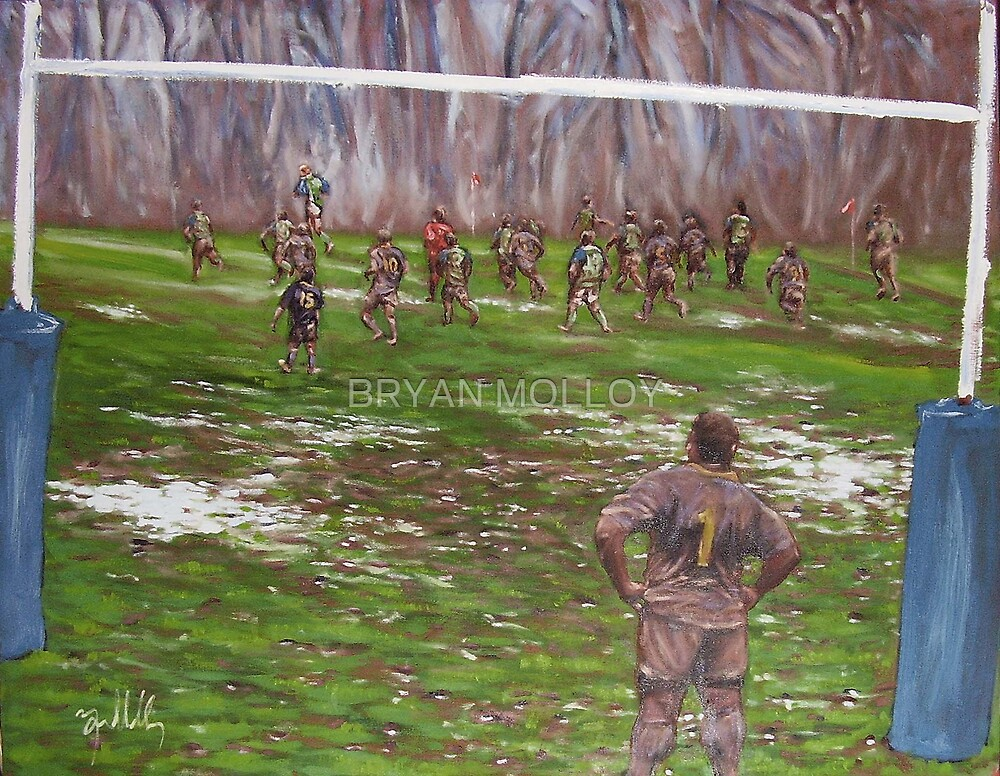 RUGBY #4: DEFENDING by BRYAN MOLLOY