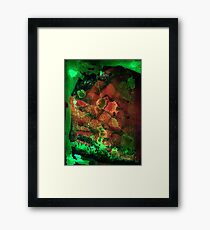 alienated planet plains Framed Print