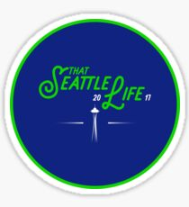 That Seattle Life Sticker