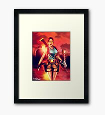 Venezia | Lara Croft, Tomb Raider Framed Print