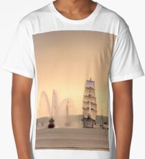 Morning of Glory - Sail Boston 2017 Long T-Shirt