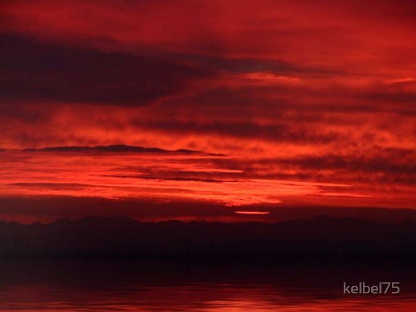 Red Sky In The Morning by kelbel75