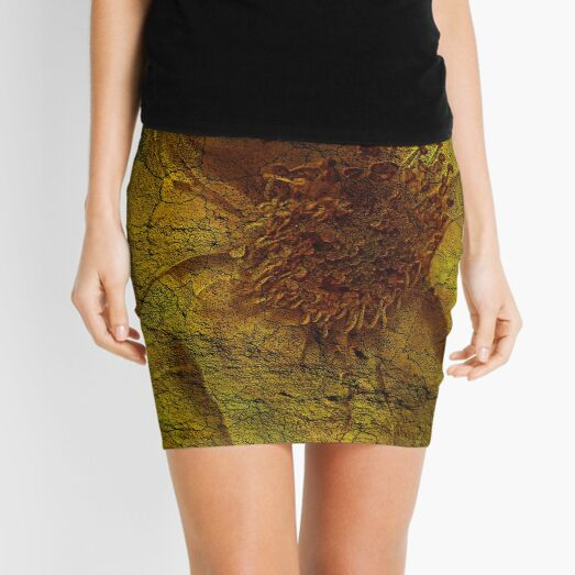 Floral Symbiosis 5 Mini Skirt