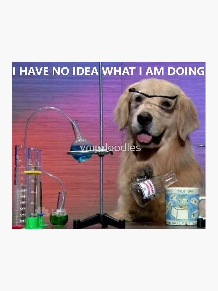Chemistry Dog Meme by vmpdoodles