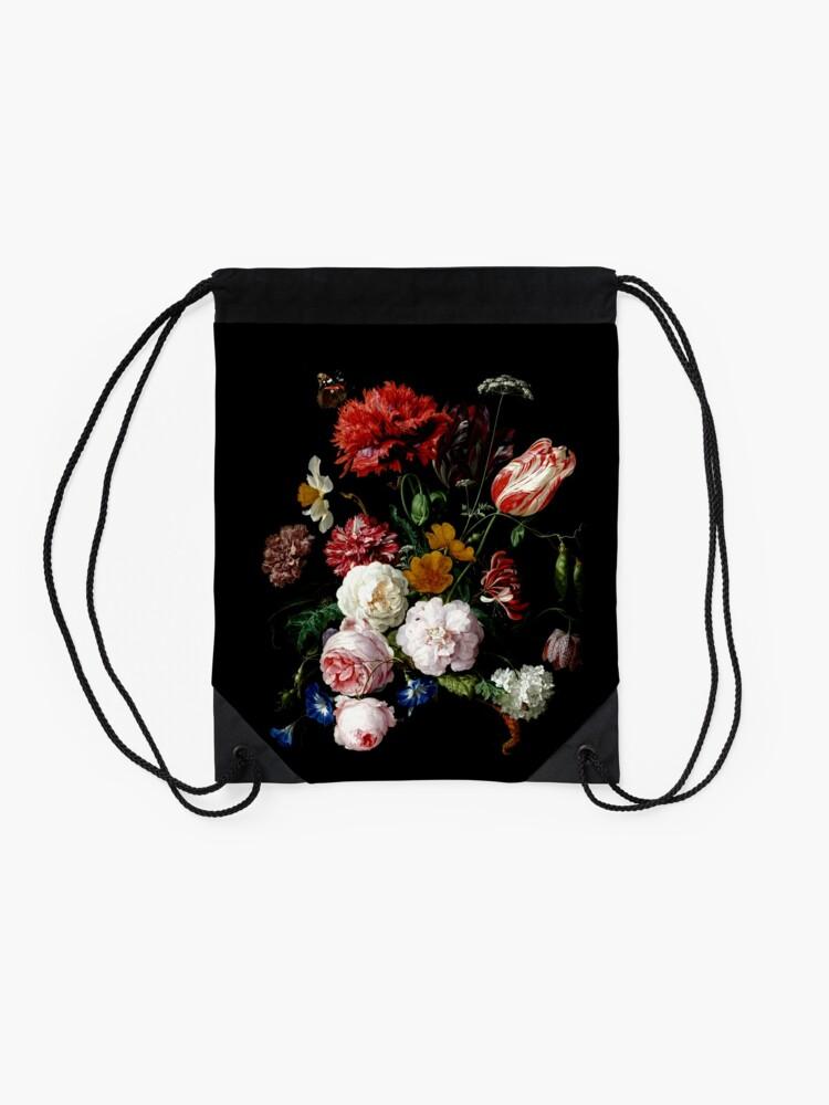 Alternate view of de heem Drawstring Bag
