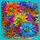 Floral Abstract Garden by Delights
