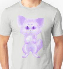Purple Fluff Ball Unisex T-Shirt