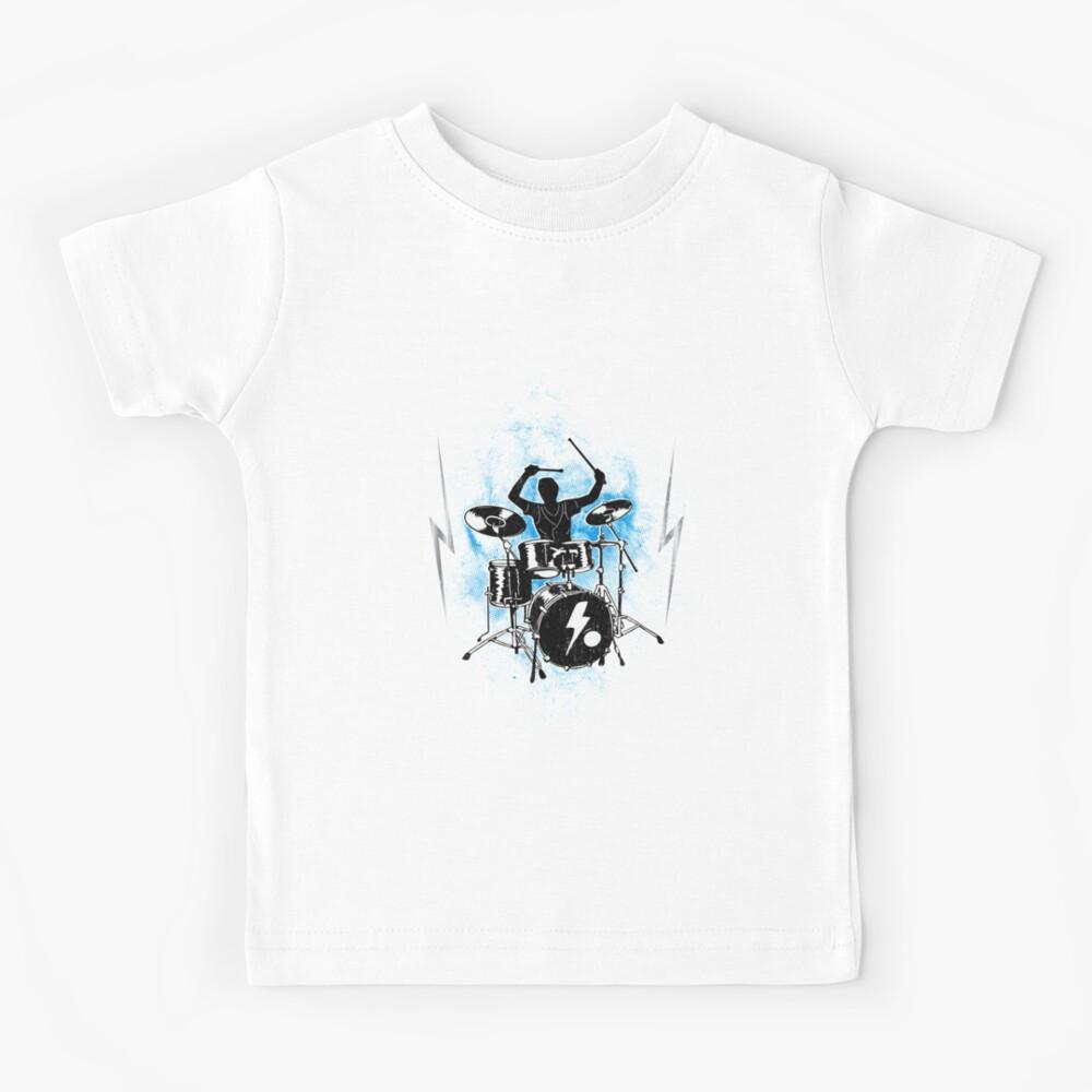 Funny drummer drumming Tempo est ce que je dis il est T-Shirt