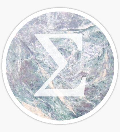 marble 2.0 - sigma Pegatina